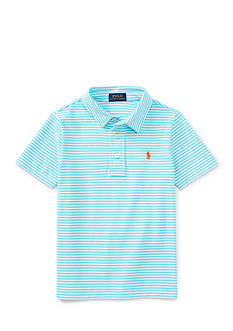 Ralph Lauren Childrenswear Stripe Polo Toddler Boys