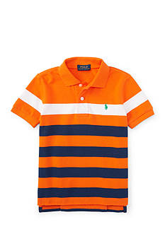Ralph Lauren Childrenswear Stripe Polo Shirt Toddler Boys