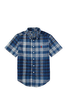 Ralph Lauren Childrenswear Plaid Shirt Toddler Boy