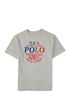 Ralph Lauren Childrenswear Graphic Tee Toddler Boy