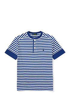Ralph Lauren Childrenswear Henley Tee Toddler Boy