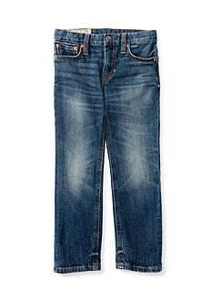 Ralph Lauren Childrenswear Denim Skinny Bottoms - Toddler Boy