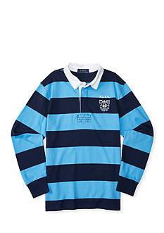 Ralph Lauren Childrenswear Knit Rugby Shirt Toddler Boy