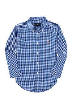 Ralph Lauren Childrenswear Poplin Shirt - Toddler Boy