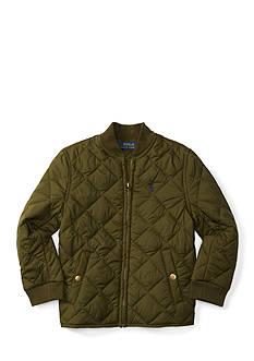 Ralph Lauren Childrenswear Quilted Jacket Toddler Boys