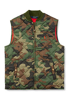 Ralph Lauren Childrenswear Matte Microfiber Vest Toddler Boy