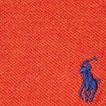 Ralph Lauren Boys: Varsity Orange Ralph Lauren Childrenswear Mesh Polo - Toddler Boy