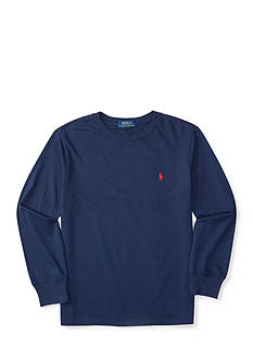 Ralph Lauren Childrenswear Cotton Long Sleeve Tee Toddler Boys