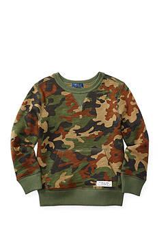 Ralph Lauren Childrenswear Camo Print Fleece Toddler Boy