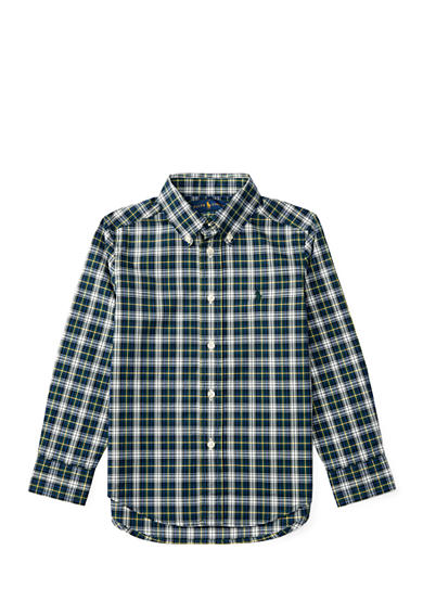 Ralph Lauren Childrenswear Cotton Poplin Shirt Toddler Boys