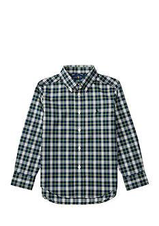 Ralph Lauren Childrenswear Cotton Poplin Shirt Toddler Boys
