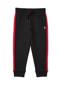 Ralph Lauren Childrenswear Cotton Interlock Track Pant Toddler Boys