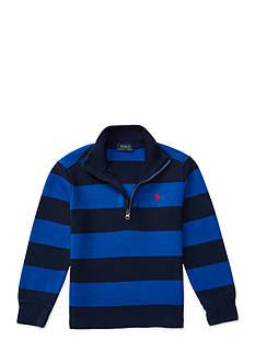 Ralph Lauren Childrenswear Cotton-Blend Half-Zip Pullover Toddler Boys