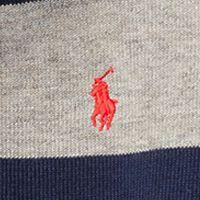 Ralph Lauren Boys: Battalion Heather Multi Ralph Lauren Childrenswear Cotton-Blend Half-Zip Pullover Toddler Boys