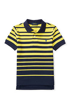 Ralph Lauren Childrenswear Mesh Short Sleeve Knit Polo Toddler Boys