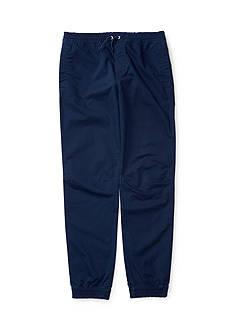 Ralph Lauren Childrenswear Cotton Twill Jogger Toddler Boys