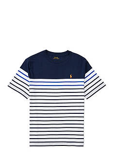 Ralph Lauren Childrenswear Striped Cotton Jersey Tee Toddler Boys