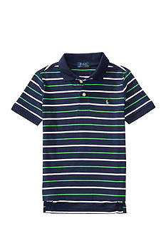 Ralph Lauren Childrenswear Striped Cotton Jersey Polo Toddler Boys 2T-4T