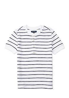 Ralph Lauren Childrenswear Short-Sleeve Waffle Henley Toddler Boys
