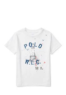 Ralph Lauren Childrenswear Jersey Graphic T-Shirt Toddler Boys