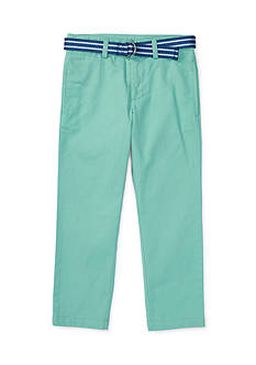 Ralph Lauren Childrenswear Stretch Chino Suffield Pant Toddler Boy