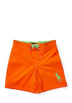 Ralph Lauren Childrenswear Twill Boardshort Toddler Boys