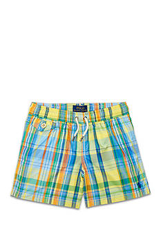 Ralph Lauren Childrenswear Traveler Swim Trunks Toddler Boys