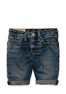 Ralph Lauren Childrenswear Denim Short Toddler Boys