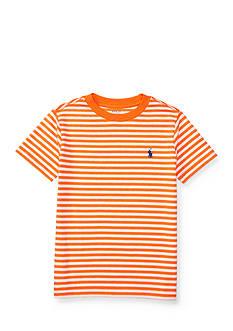 Ralph Lauren Childrenswear Jersey Crew Neck Tee Toddler Boys