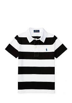 Ralph Lauren Childrenswear Striped Jersey Polo Toddler Boys