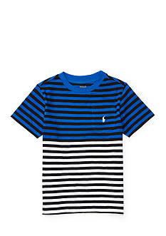 Ralph Lauren Childrenswear Striped Pocket Tee Toddler Boys