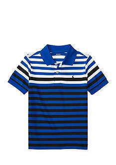 Ralph Lauren Childrenswear Tech Mess Polo Shirt Toddler Boy
