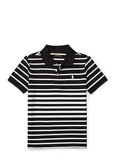 Ralph Lauren Childrenswear Mesh Stripe Polo Toddler Boys