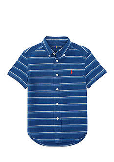 Ralph Lauren Childrenswear Striped Cotton Shirt Toddler Boys