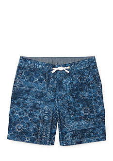 Ralph Lauren Childrenswear Straight Cotton Twill Shorts Toddler Boys