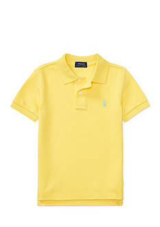 Ralph Lauren Childrenswear Cotton Mesh Polo Shirt Toddler Boys