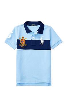 Ralph Lauren Childrenswear Cotton Mesh Polo Shirt Toddler Boys