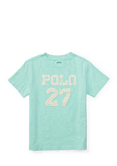 Ralph Lauren Childrenswear Cotton Crewneck Graphic Tee Toddler Boys