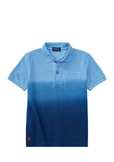Ralph Lauren Childrenswear Dip-Dyed Mesh Polo Shirt Toddler Boys
