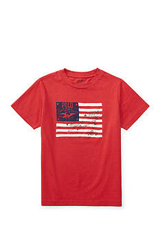 Ralph Lauren Childrenswear Cotton Jersey Graphic Tee Toddler Boys