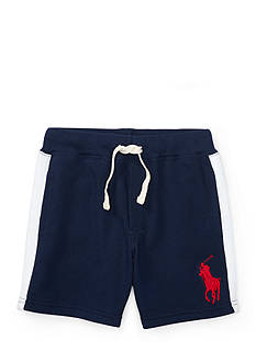 Ralph Lauren Childrenswear Cotton Atlantic Terry Shorts Toddler Boys