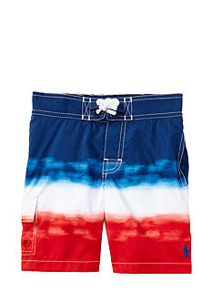 Ralph Lauren Childrenswear Kailua Ombre Swim Trunk Toddler Boys