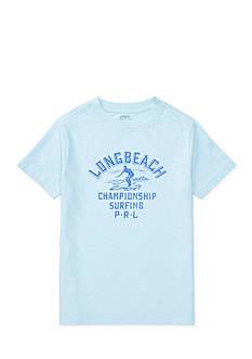 Ralph Lauren Childrenswear Cotton Jersey Graphic Tee Toddler Boys