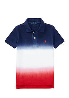 Ralph Lauren Childrenswear Dip-Dyed Cotton Mesh Polo Toddler Boys
