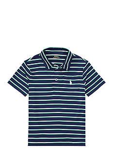 Ralph Lauren Childrenswear Striped Performance Polo Shirt Toddler Boys