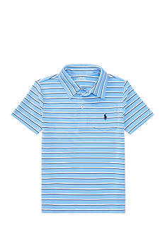 Ralph Lauren Childrenswear Striped Performance Polo Shirt Toddler Boys