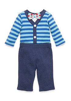 Nursery Rhyme 3-Piece Bodysuit, Bow Tie and Pants Set