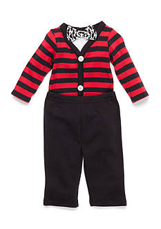 Nursery Rhyme 3-Piece Bodysuit, Bow Tie and Pant Set