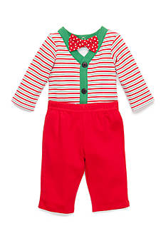 Nursery Rhyme 3-Piece Bodysuit, Bow Tie, and Pants Set