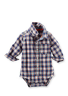 OshKosh B'gosh® Plaid Button Front Bodysuit